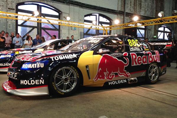 V8 SUPERCAR 2013 Presentation TEAM HOLDEN RED BULL