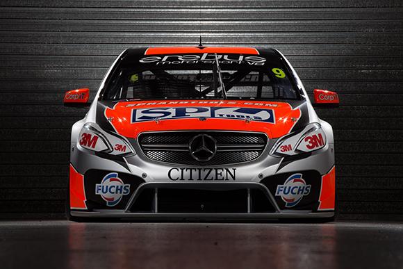 V8 SUPERCAR 2013 Presentation Team AMG MERCEDES