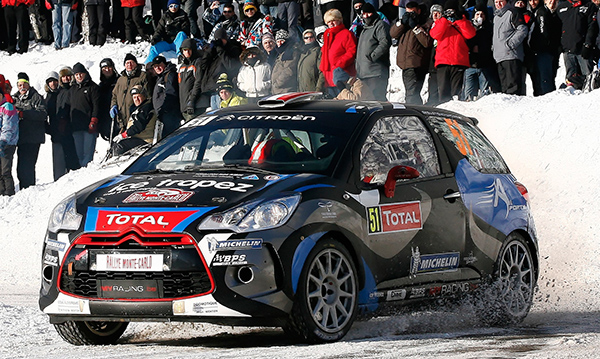 WRC 2013 MONTE CARLO CHARDONNET DE LA HAYE DS3 CITROEN
