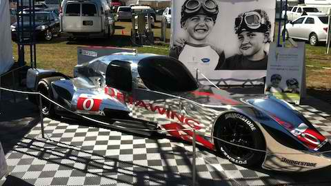 ALMS 2013 DELTAWING COUPE