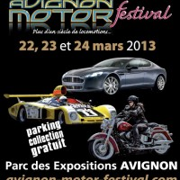 AVIGNON MOTOR FESTIVAL 2013 affiche