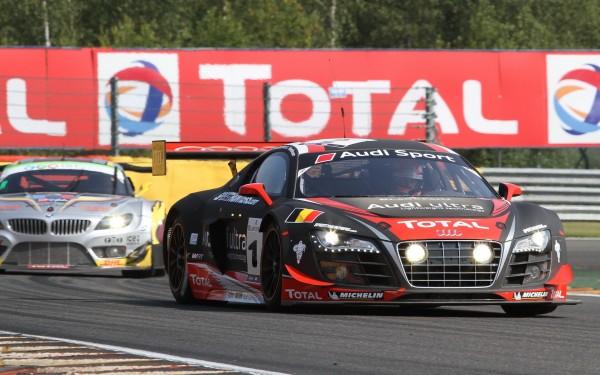 BLANCPAIN 2012 Le Team WRT et l'Audi R8 LMS devant le Team VDS et la BMW Z4 tel sera le verdict final© Manfred GIET pour autonewsinfo