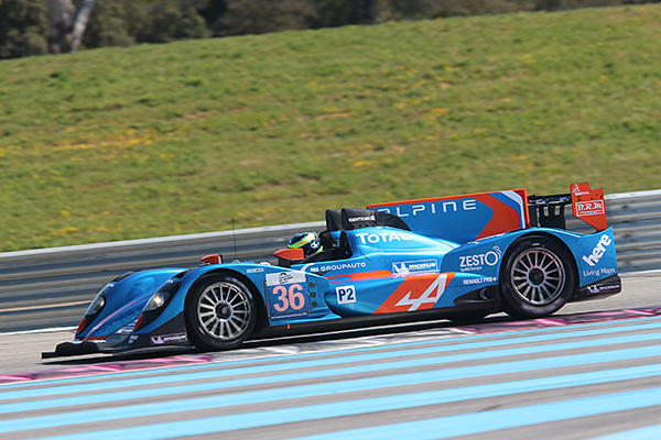 ELMS 2013 Test PAUL RICARD 26 mars SIGNATECH ALPINE Nelson PANCIATICCI Photo Gilles VITRY autonewsinfo