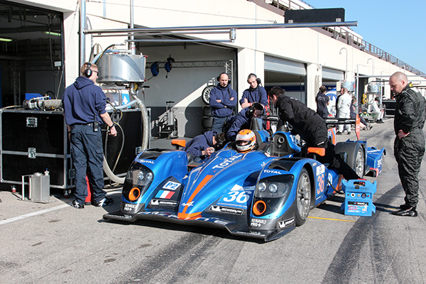 ELMS 2013 Test PAUL RICARD Ravitaillement ALPINE SIGNATECH de Tristan GOMMENDY Photo Gilles VITRY autonewsinfo