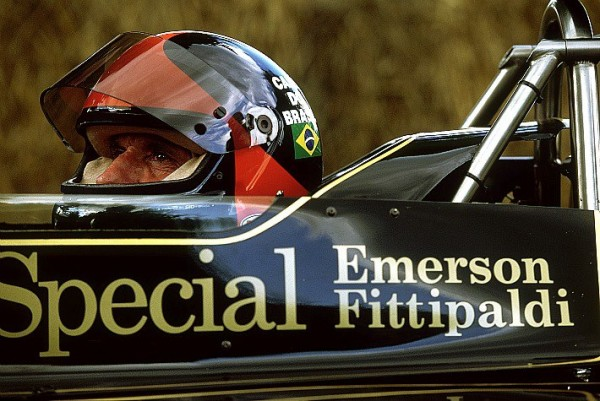 EMERSON FITTIPALDI LOTUS F1  de 1972