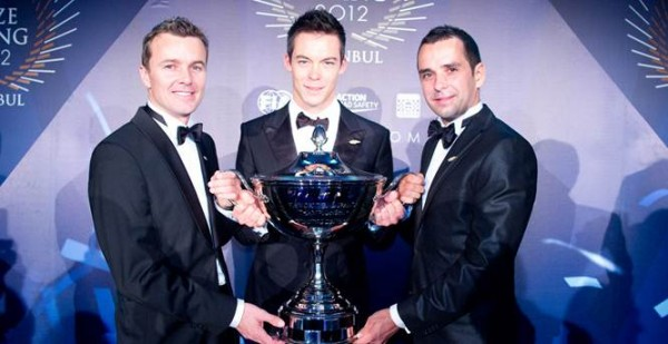 NDURANCE-WEC-2012-ISTANBUL-Remise-des-prix-pilotes-CHAMPIONS-du-monde-TRELUYER-FASSLER-LOTTERER