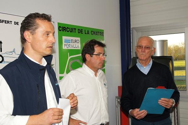 EUROFORMULA-Laurent-FRADON-Joel-de-MIGUEL-et-Jean-Pierre-JAUSSAUD-Le Président du Jury Photo-autonewsinfo