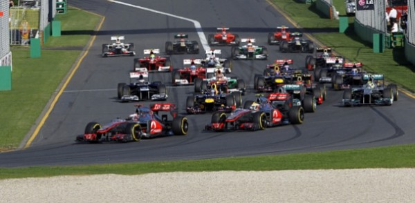 F1 2012 AUSTRALIE GP depart photo Organisation