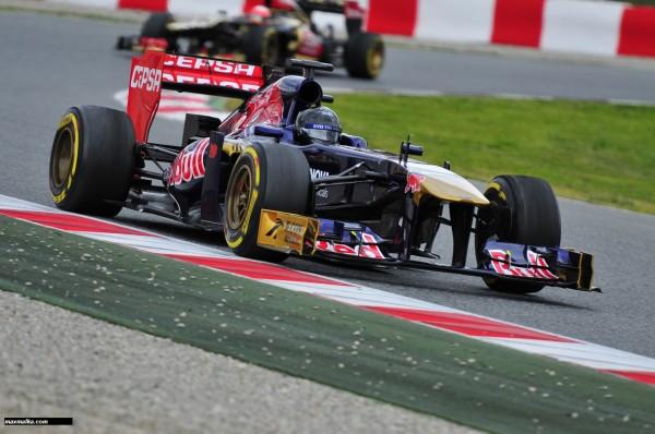 F1 2013 BARCELONE Essai du 28 fevrier au 3 mars TORO ROSSO Photo MAX MALKA