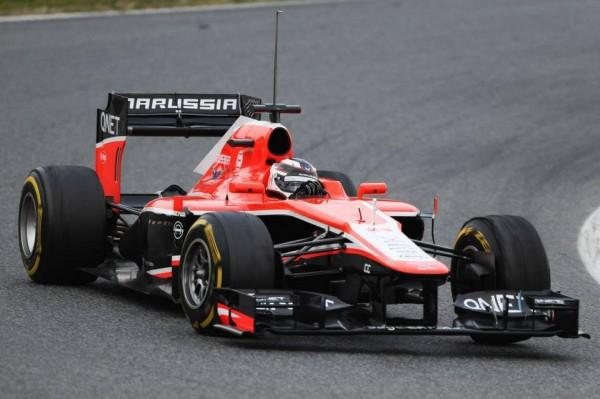 F1 2013 BARCELONE Test 20 fevrier MARUSSIA MAX CHILTON