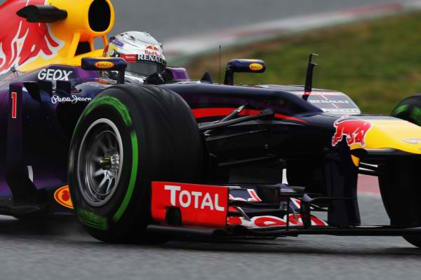 F1 2013 MELBOURNE SEB VETTEL RED BULL RENAULT