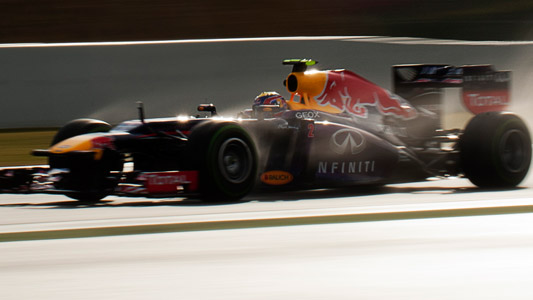 La RED BUL-RENAULT de MARK WEBBER