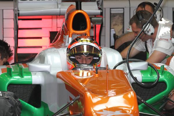 F1- BIANCHI-cockpit-stand-FORCE-INDIA-photo-Gilles-VITRY-autonewsinfo