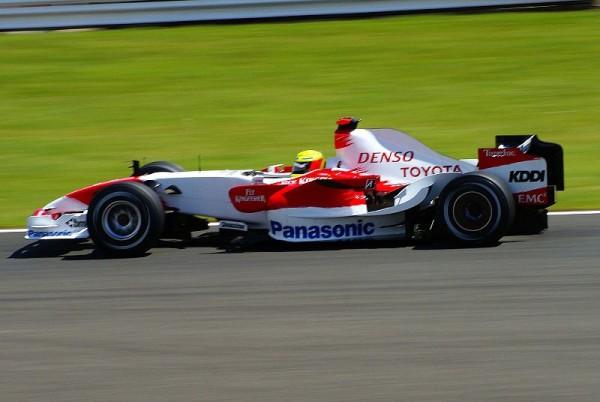F1 Ralf Schumacher Toyota 2007 Britain