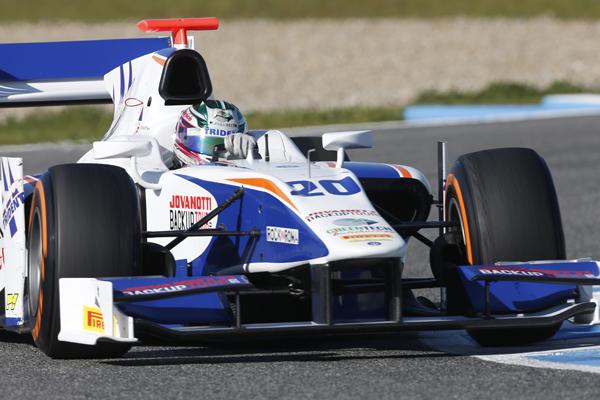 GP2  2013 Berthon Team TRIDENT