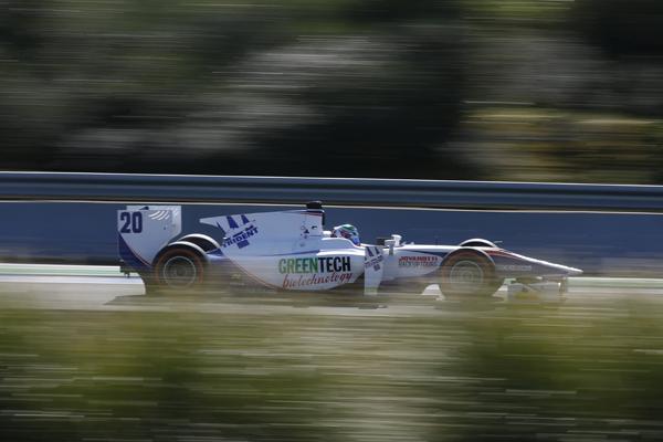 GP2  2013 Nathanael Berthon PILOTE Team TRIDENT