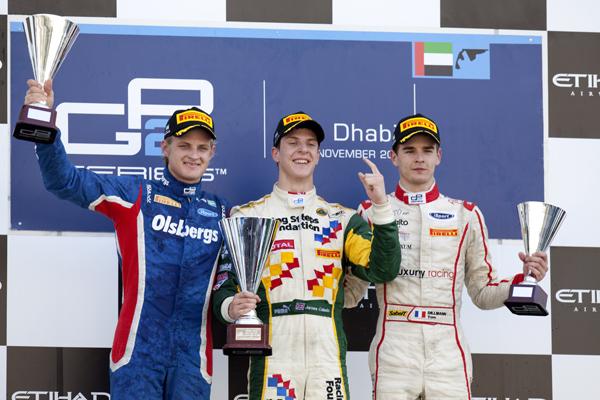 GP2-Ericsson-Calado-Dillmann-Podium-Abu-Dhabi-2011