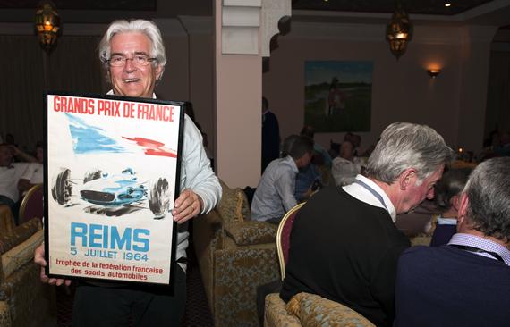 JEAN FRANCOIS RAGEYS avec  tableau GP FRANCE a REIMS