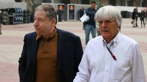 Jean TODT et Bernie ECCLESTONE photo Bernard BAKALIAN