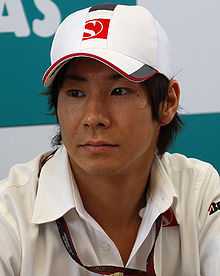 KAMUI KOBAYASHI Team SAUBER 2012