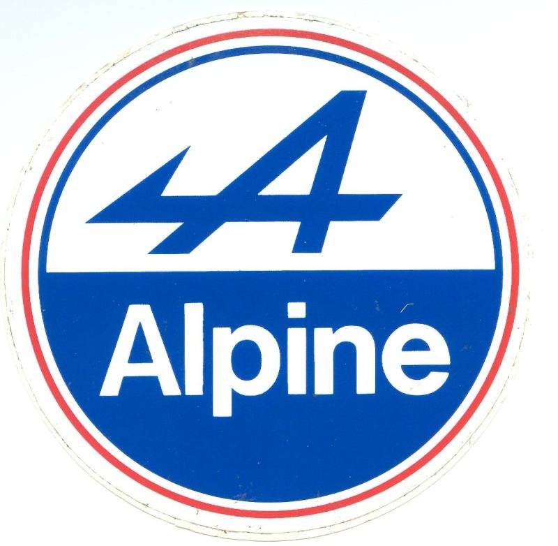 LOGO ALPINE automobiles