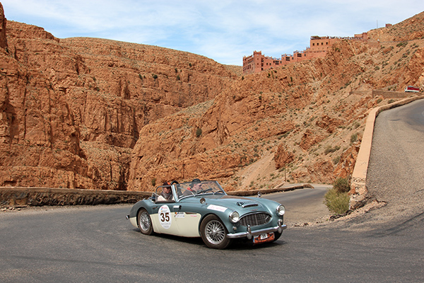 MAROC-CLASSIC-2013-AUSTIN-healey-3000-Debrabandere-Photo-Gilles-VITRY-autonewsinfo