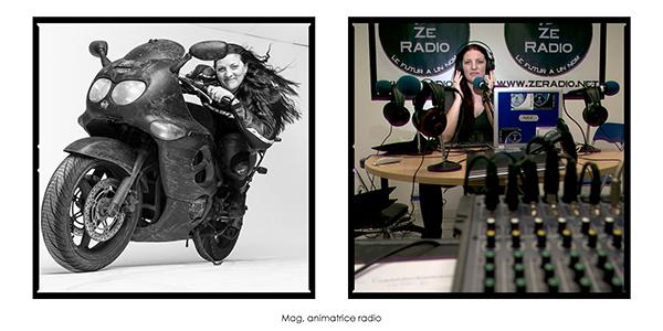Aurélie- Femmes Urbaines - 12 jan 2013 Toutes en Moto
