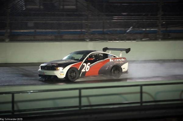 Mathieu LECUYER MUSTANG GT3 (c) Reg Dodd