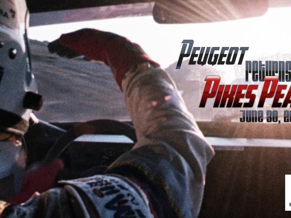 PIKES PEAK 2013 Peugeot annonce
