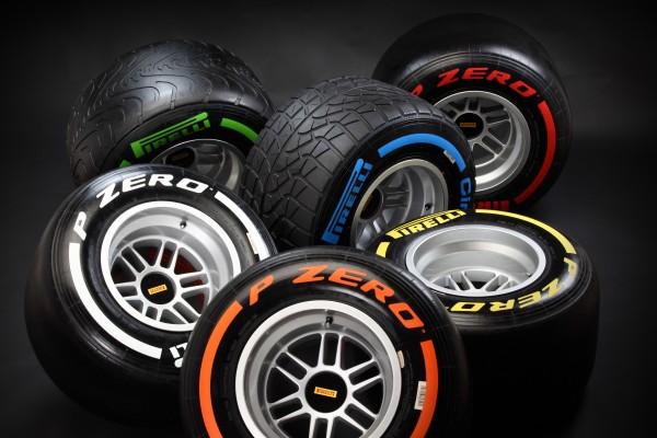 PIRELLI Pneus F1 Saison 2013