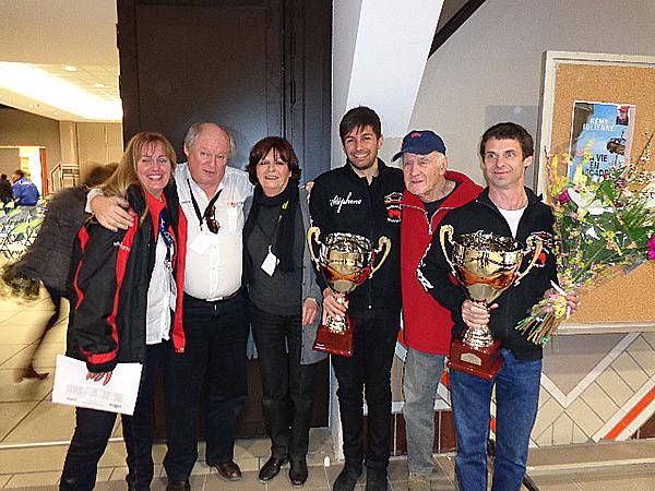 RALLYE-VAISON-2013-Stephane-PELLEREY-JOSE-BOYER-les-vainqueursavec-Remy-JULIENNE-et-Gilles-GAIGNAULT