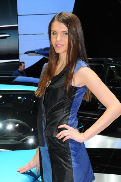 SALON GENEVE 2013 HOTESSES 60 Photo PatrickMARTINOLI AUTONEWSINFO