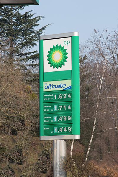 STATION SERVICE BP Photo Gilles VITRY autonewsinfo