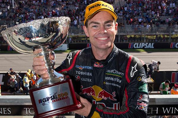V8 2013 ADELAINE CRIPSAL 500 1er CRAIG LOWNDES Coupe du vainqueur