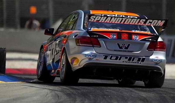 V8 SUPERCAR 2013 GP MELBOURNE 15 16 17 MARS MERCEDES Team EREBUS