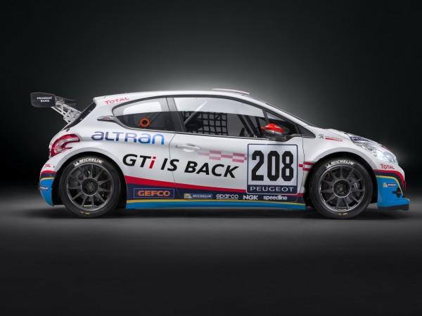 VLN 2013 Avant les 24 Heures du NURBURGRING 208 GTi Peugeot Sport