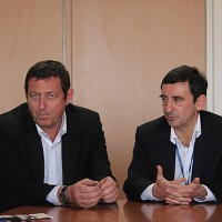 WEC-2013-GERARD-NEVEU-et-PIERRE-FILLON-Conf-WEC-Circuit-PAUL-RICARD-29-mars-Photo-Gilles-VITRY-autonewsinfo.