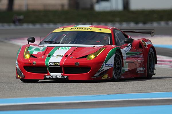 WEC-2013-Test-PAUL-RICARD-AF-CORSE-FERRARI-NUM-71-BRUNI-FISICHELLA-Photo-Gilles-VITRY-autonewsinfo