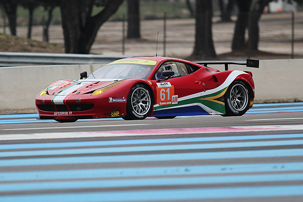 WEC-2013-Test-PAUL-RICARD-FERRARI-Num-61-Team-AF-CORSE-Marco-CIOCCI-Photo-Gilles-VITRY-autonewsinfo
