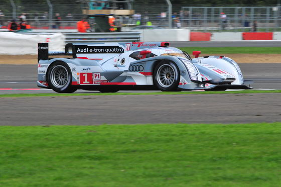 WEC SIVERSTONE 2012 AUDI N°1 TRELUYER en pole Photo PATRICK MARTINOLI autonewsinfo