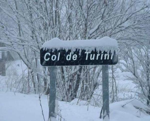 WRC 2013 COL DE TURINI sous la neige
