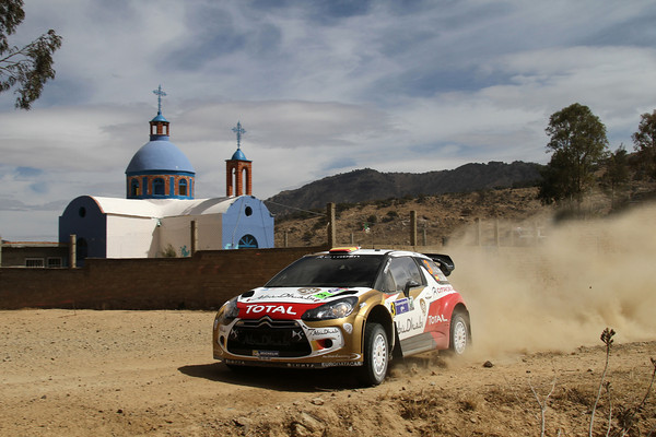 WRC 2013 MEXIQUE DS3 SORDO  Photo Jo LILLINI