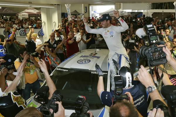 WRC 2013 MEXIQUE VICTOIRE pour OGIER
