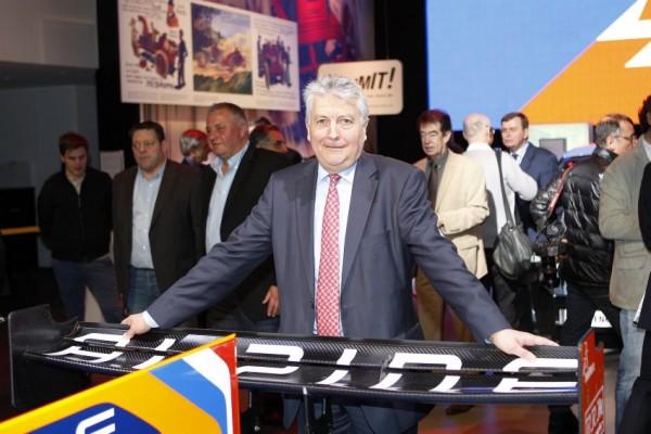 Bernard OLIVIER; l'actuel Président d'ALPINE, digne successeur de Jean REDELE