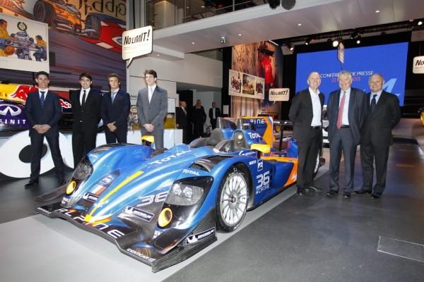 Présentation ALPINE - 24 H du Mans 2013.