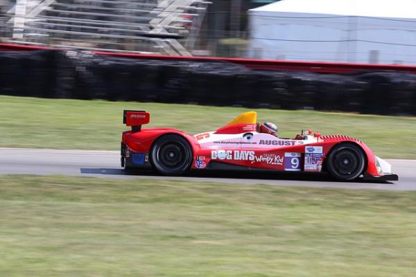 L'ORECA-FLM09 du RSR Racing.