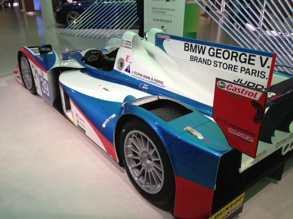 24-H-DU-MANS-2013-LOLA-JUDD-BMW-team-Luxembourgeois-DKR-Présentation-Show-room-BMW-GEORGES-V-PARIS Photo autonewsinfo