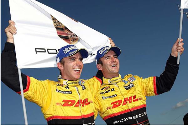 24-HEURES-DU-MANS-2014-Retour chez Porsche-en-LMP1-pour -Timo-Bernhard-et-Romain-Dumas pilotes de la PORSCHE RS Spyder en ALMS  avec le Team de Roger PENSKE
