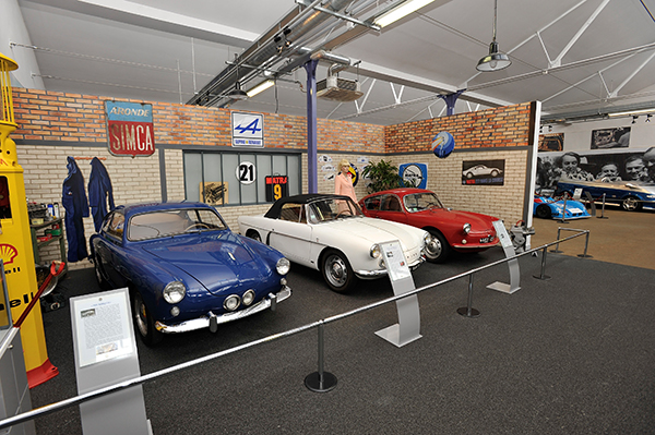 ALPINE Expo A MUSEE MATRA ROMORANTIN 19 avril 2013 inauguration Photo Berlinette Jean Jacques MANCEL pour autonewsinfo