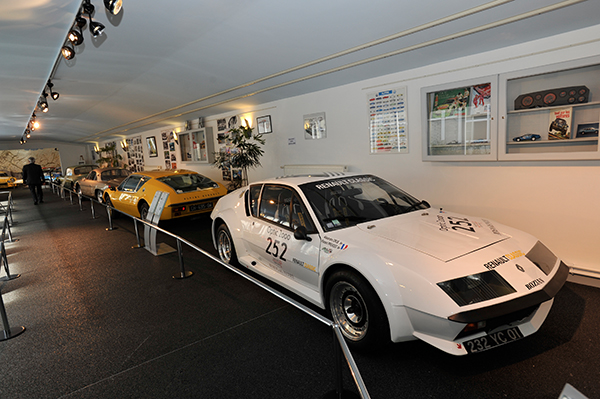 ALPINE Expo MUSEE MATRA ROMORANTIN 19 avril 2013 inauguration Photo Berlinette Jean Jacques MANCEL pour autonewsinfo